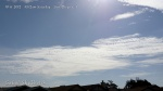 10/6/2012 San Diego 10:12am - Massive HAARP wave generated chem cloud bank bisected with a dark line chemtrail shadow.