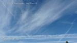 10/6/2012 San Diego 12:40pm - Planes continue to fly across the parallel chemtrails to form a massive grid.