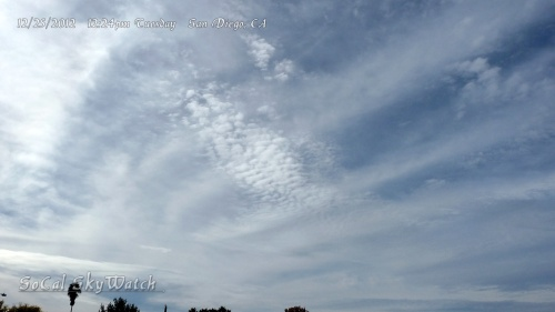 The entire sky gets HAARP'd as fractals emerge in both large and small scale patterns.