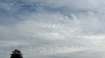 Chemtrail line segment injection and HAARP wave cloud formations.