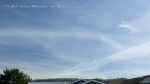 10:15am Fresh chemtrail line segments and massively expanded chem clouds blanket the entire sky.