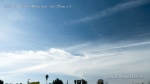 11:28am HAARP wave line patterns forming between parallel chemtrails.