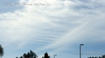 11:35am Chem cloud dumps thicken up with HAARP wave line patterns forming across.