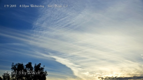 4:33pm HAARP wave patterns in the chem cloud blanket.