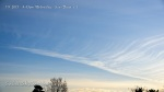 4:43pm Massive chemtrail with HAARP wave patterns streaming out into a blanket.