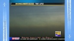 CBS8 Weather news time-lapse video. Chemtrails still visible above incoming clouds.